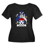 Seagrim Family Crest Women's Plus Size Scoop Neck