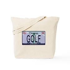 Oregon Plate - GOLF Tote Bag