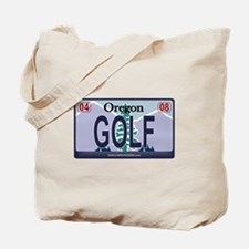 Oregon Plate - GOLF Tote Bag