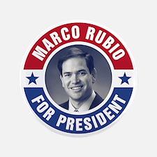 Marco Rubio For President Button