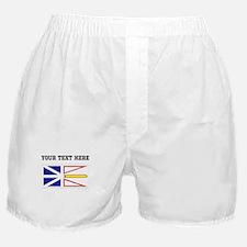 Custom Newfoundland Flag Boxer Shorts