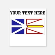Custom Newfoundland Flag Sticker