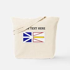 Custom Newfoundland Flag Tote Bag