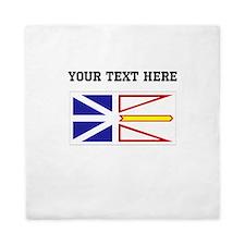 Custom Newfoundland Flag Queen Duvet