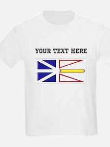 Custom Newfoundland Flag T-Shirt