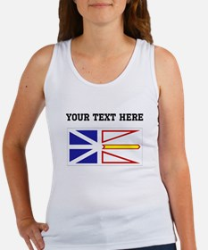 Custom Newfoundland Flag Tank Top