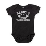 Daddy\'s training Baby