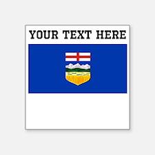 Custom Alberta Flag Sticker