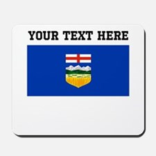 Custom Alberta Flag Mousepad