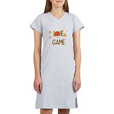 Love The Game Women's Nightshirt
