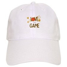 Love The Game Baseball Baseball Cap