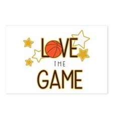 Love The Game Postcards (Package of 8)