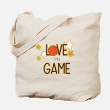 Love The Game Tote Bag