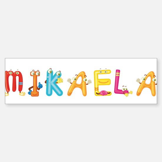 Mikaela Bumper Bumper Bumper Sticker