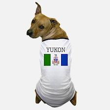 Yukon Flag Dog T-Shirt
