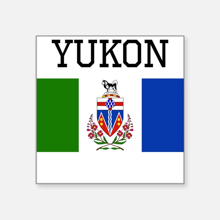 Yukon Flag Sticker
