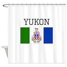 Yukon Flag Shower Curtain