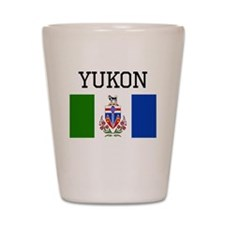 Yukon Flag Shot Glass