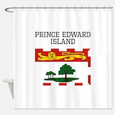 Prince Edward Island Flag Shower Curtain