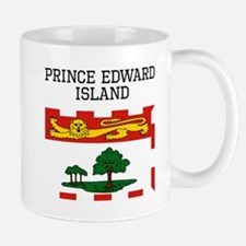 Prince Edward Island Flag Mugs