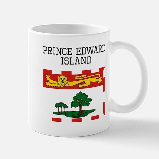 Prince Edward Island Flag Mugs