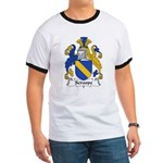Scroope Family Crest Ringer T
