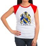 Scroope Family Crest Women's Cap Sleeve T-Shirt
