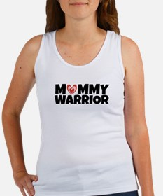 Mommy Warrior (with Heart) Tank Top