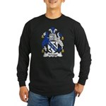 Scrogg Family Crest Long Sleeve Dark T-Shirt