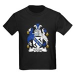 Scrogg Family Crest Kids Dark T-Shirt