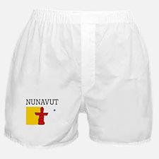 Nunavut Flag Boxer Shorts