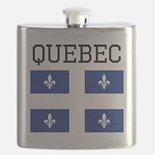 Quebec Flag Flask