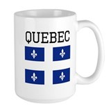 Quebec Large Mugs (15 oz)