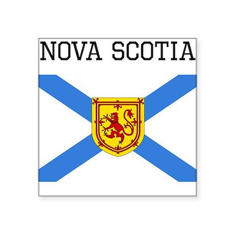 Nova Scotia Flag Sticker Ohhcanada