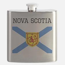 Nova Scotia Flag Flask