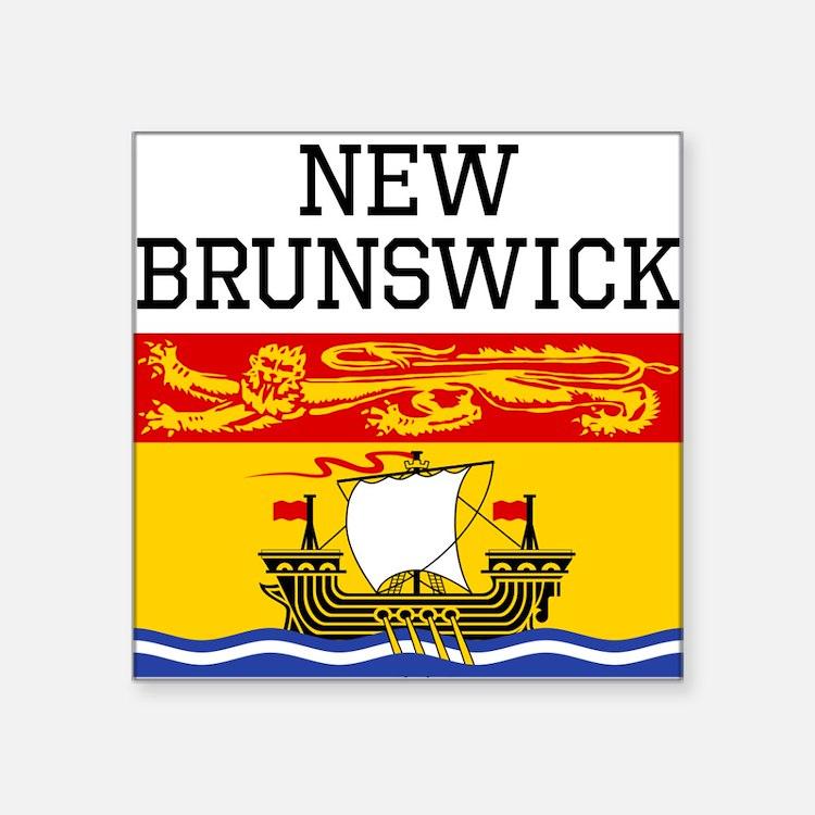 New Brunswick Sticker Designs