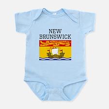 New Brunswick Flag Body Suit