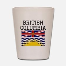 British Columbia Flag Shot Glass