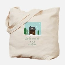 To The Cabin Tote Bag