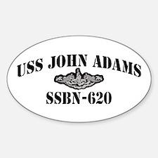 USS JOHN ADAMS Decal