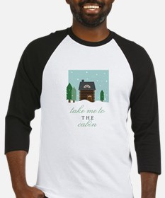 To The Cabin Baseball Jersey