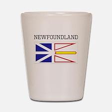 Newfoundland Flag Shot Glass