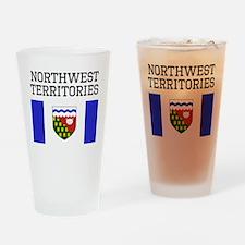 Northwest Territories Flag Drinking Glass