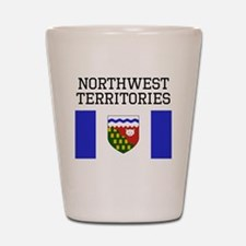Northwest Territories Flag Shot Glass