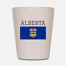 Alberta Flag Shot Glass