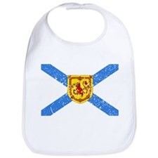 Worn Nova Scotia Flag Bib