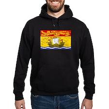 Worn New Brunswick Flag Hoodie