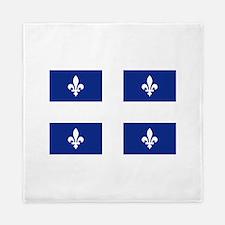 Quebec Flag Queen Duvet