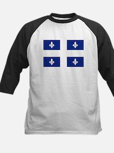 Quebec Flag Baseball Jersey