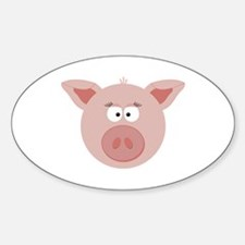 Pig Face Decal